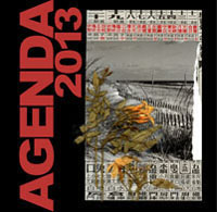 agenda 2013 cali rezo collages et dessins