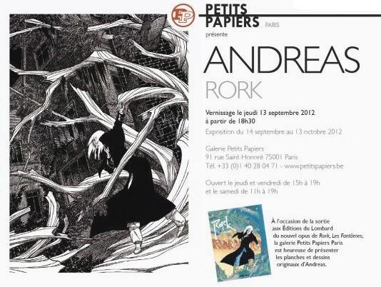 Expo Rork, Andreas - septembre 2012 Paris