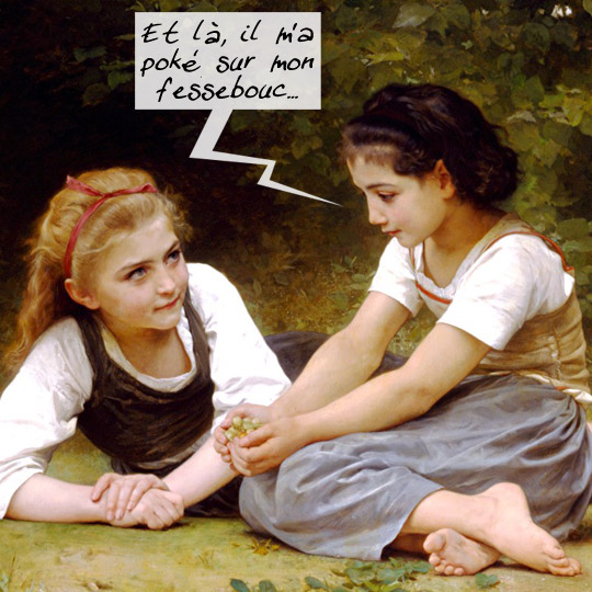 facebook - bouguereau