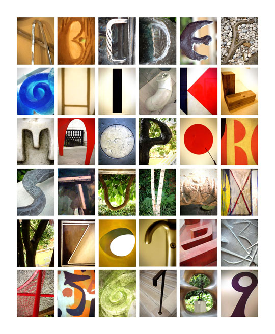 Alphabet en photos de Venise - Cali rezo - avril 2013
