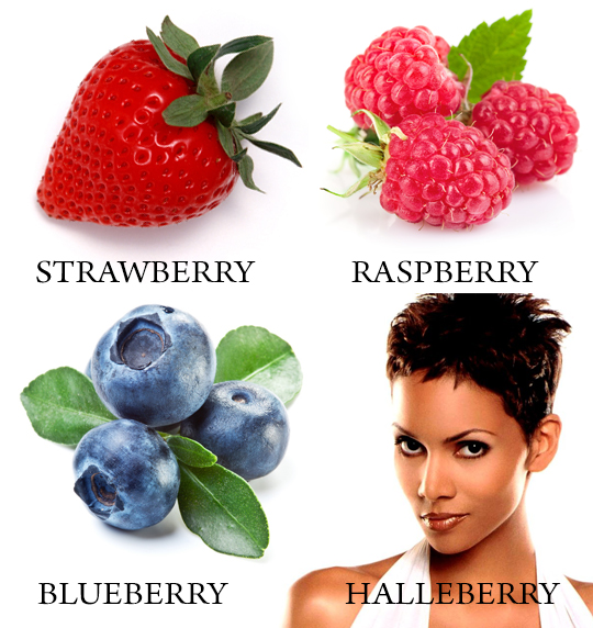 Halle Berry and other Berries