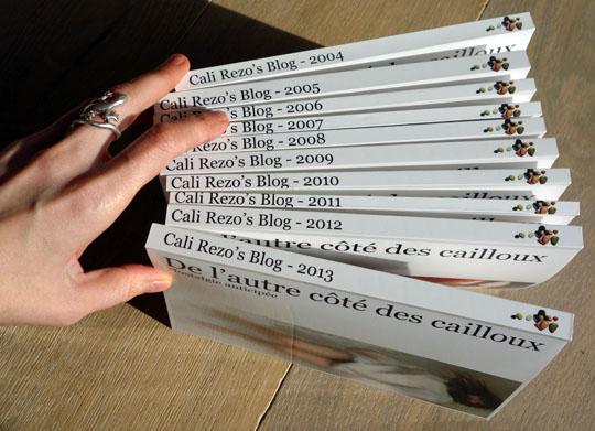 Blog Papier couvertures de 2004 à 2013 - cali rezo blog