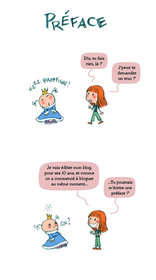 Préface blog papier PrincessH