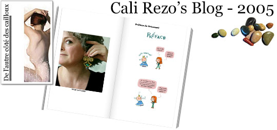 Bannière pour la préface du blog papier Cali Rezo 2005 - par PrincessH