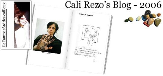 Bannière pour la préface du blog papier Cali Rezo 2006 - par Capu
