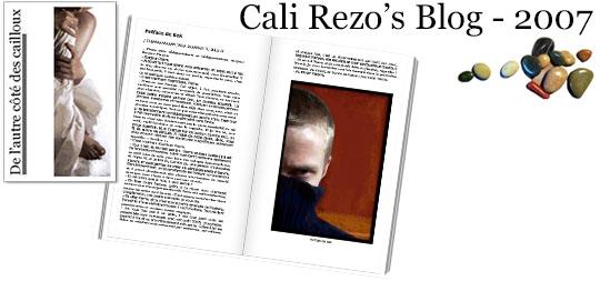 Bannière pour la préface du blog papier Cali Rezo 2007 - par Kek