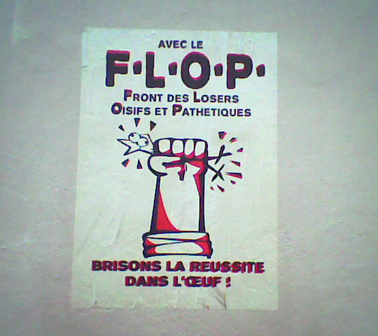 affichette, photo, Paris