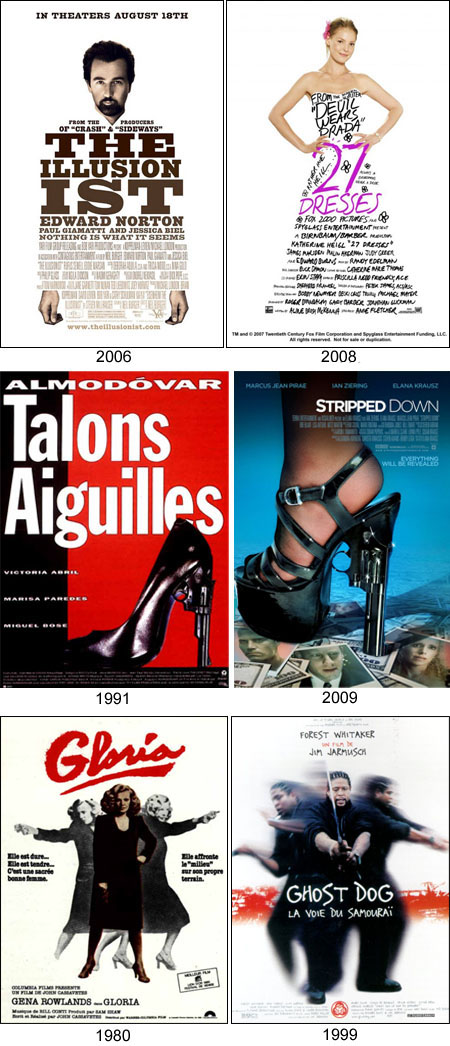 cinema posters ressemblances