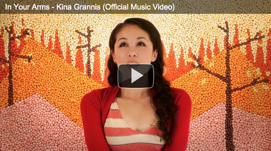 """in your arms"" Kina Grannis"