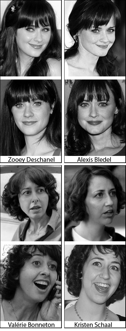 Ressemblances-actrices