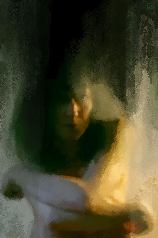 """""""FC n°87"""" - Autoportrait"""